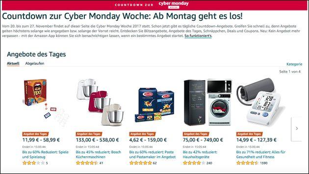 Tag 3: Amazon Angebote im