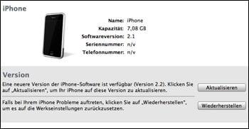 iPhone Update 2.2