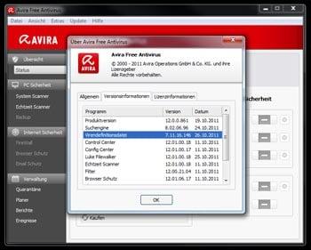 Avira Fehlalarm: Trojaner Spy . 463227