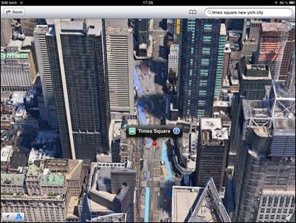 Apple Maps: New York 3D