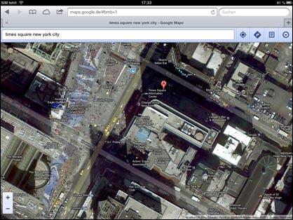 Google Maps: New York per Satellit