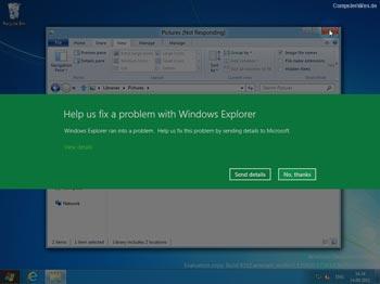 Windows 8 Explorer Error