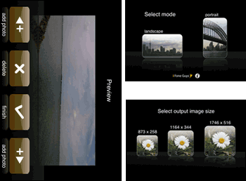 Panorama App iPhone