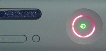Xbox 360: Red Ring Of Death