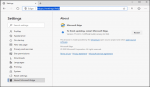 Edge browser chromium update