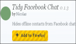 Tidy facebook chat plug in2
