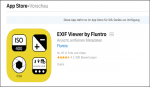 Exif viewer app iphone