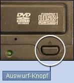 Auswurf-Knopf