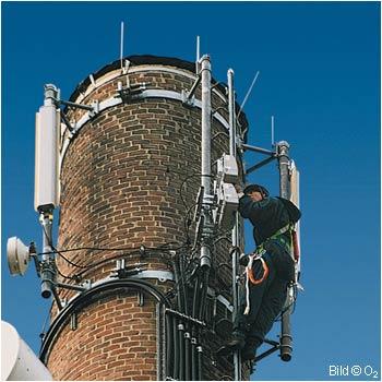 O2: Aufrüstung von EDGE und UMTS Netz
