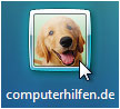 windows vista login - user icon