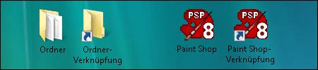 windows icon verküpfung