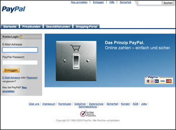 paypal-webseite
