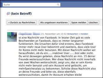 Ungelesen markieren nachrichten als facebook Telegram: Chats