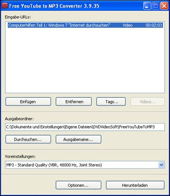 YouTube MP3 Converter: YouTube Download legal?