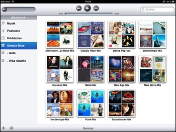 iPad iTunes
