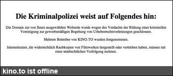 kino.to offline