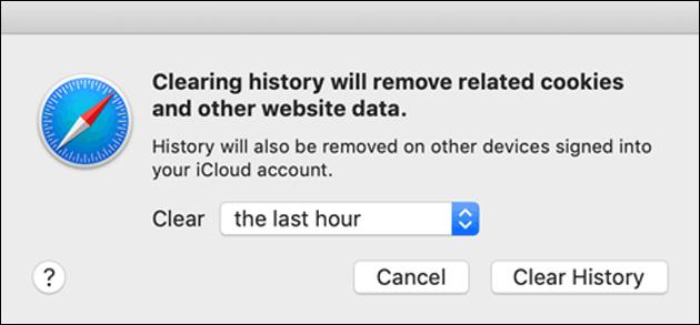 Safari Browser Verlauf
