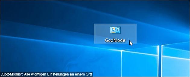 """Windows Godmode: """"System-Gott"""" werden :)"""