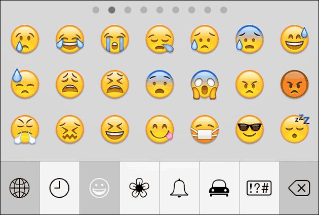 iphone smileys zum kopieren