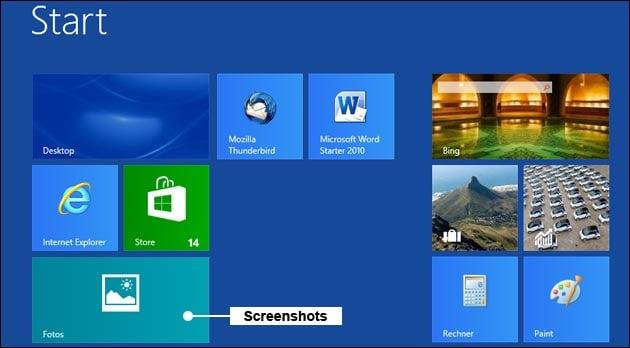windows 8 und neuer screenshot machen bildschirmfoto. Black Bedroom Furniture Sets. Home Design Ideas
