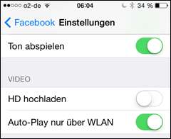 Video Autoplay (iPhone)