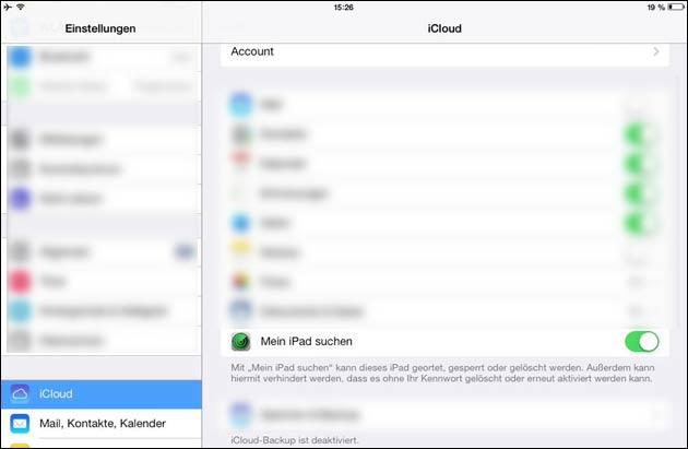 Was kann ich mit einem gesperrten iPhone machen?