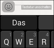 Android Smiley Tastatur