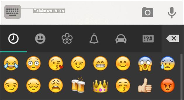 Android Emoji Tastatur Und Smileys Installieren