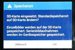 android bilder auf sd karte speichern Android Handy/Tablet: Fotos auf SD Karte statt im Handy speichern