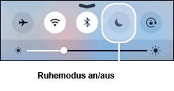 iPhone Ruhemodus / Mond