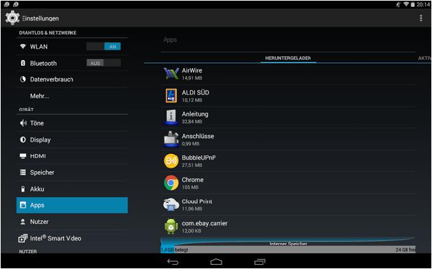 Android apps löschen und deinstallieren