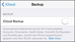 iPhone SMS wiederherstellen
