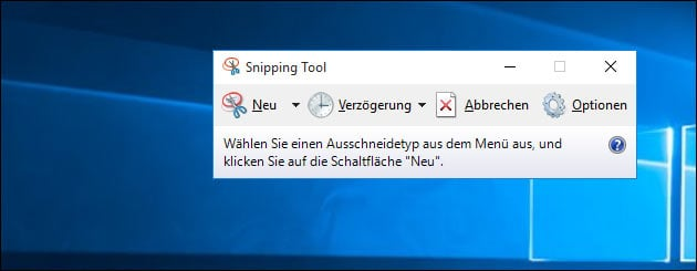 Windows 10 Screenshot machen