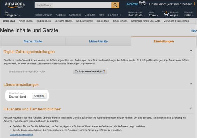 Lösung Probleme Mit Amazon Prime Kindle Oder Fire Tv Alles Auf