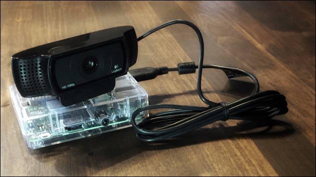 Raspberry Pi mit USB Webcam
