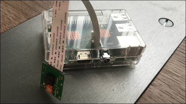 Raspberry Pi Camera Module mit fswebcam