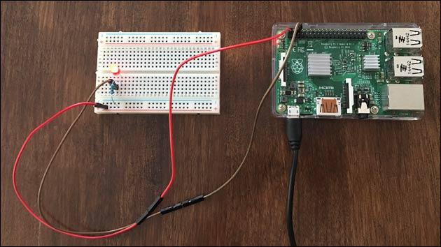 Raspberry Pi: LED anschließen