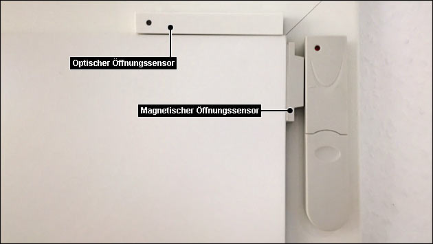 Tür und Fenster-Öffnungssensor in FHEM