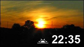 FHEM Uhrzeit vom Sonnenuntergang anzeigen