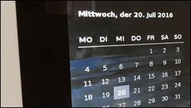 Webmaster: Skript für Datum und Monats-Übersicht