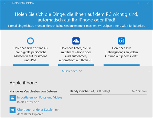 Windows  Bilder Vom Iphone Importieren