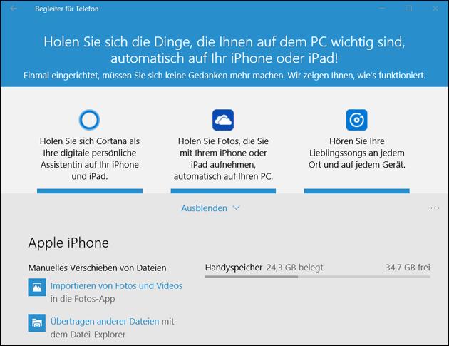 Windows  Bilder Vom Iphone Importieren
