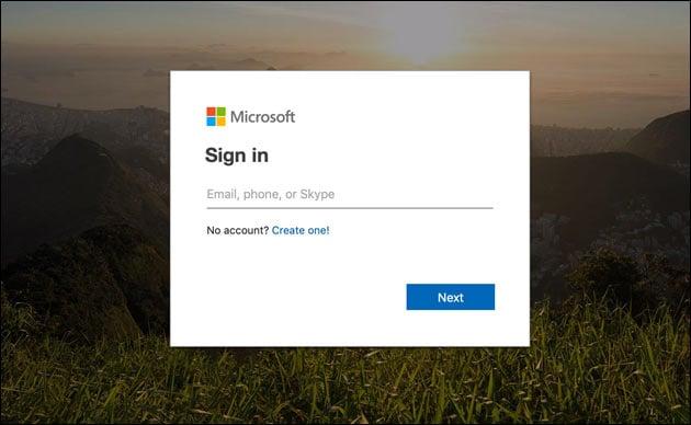 Excel online kostenlos: Microsoft Konto