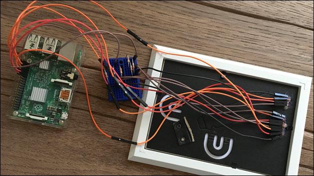 Smart Home Display: Anschluss an den Raspberry Pi