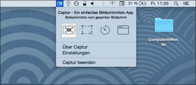 Captur: Screenshot Tool für den Mac