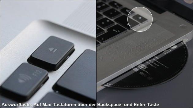 Mac: CD auswerfen