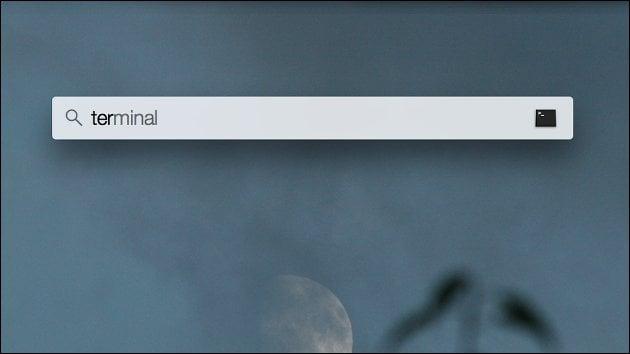 Terminal: Mac-OS