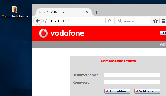 easy.box: Vodafone IP