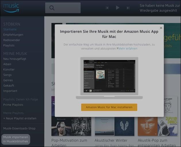 Amazon Echo - eigene Musik abspielen