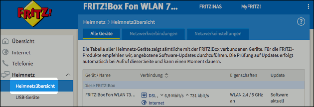 Fritzbox IPv4 zuweisen